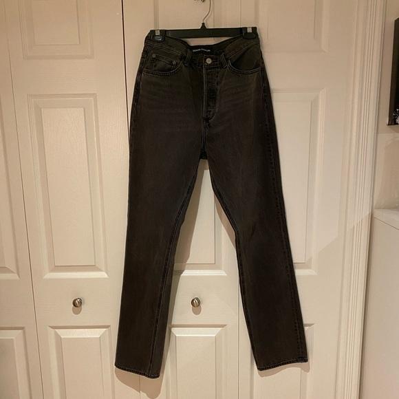 Aritzia Denim Forum Nina Stovepipe Jeans